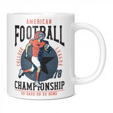 AMERICAN FOOTBALL COLLEGE LEAGUE CHAMPIONSHIP 1978 11OZ NOVELTY MUG