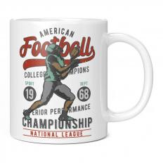 AMERICAN FOOTBALL CHAMPIONSHIP 1968 11OZ NOVELTY MUG