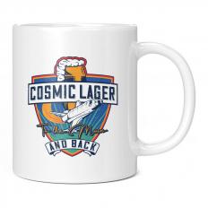 COSMIC LAGER SPACECRAFT 11OZ NOVELTY MUG