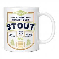 STRONG ENGLISH BEER STOUT 11OZ NOVELTY MUG