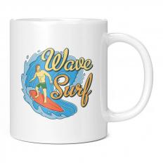 HAWAII WAVE SURF 11OZ NOVELTY MUG