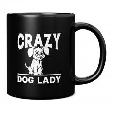CRAZY DOG LADY 11OZ NOVELTY MUG
