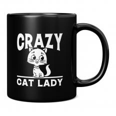 CRAZY CAT LADY 11OZ NOVELTY MUG