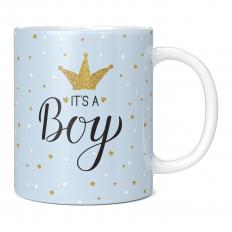 IT'S A BOY 11OZ NOVELTY MUG
