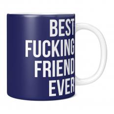 BEST FUCKING FRIEND EVER 11OZ NOVELTY MUG
