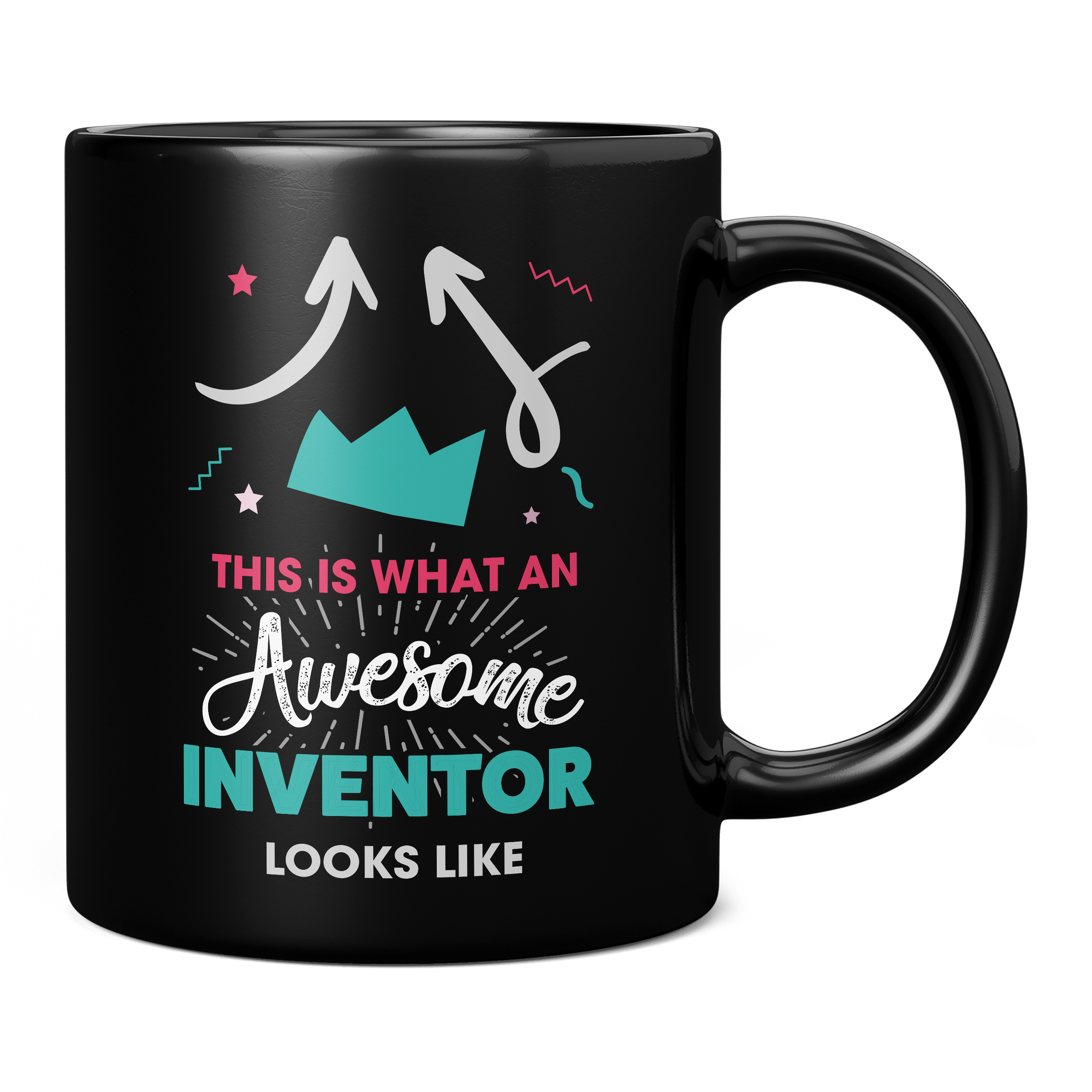 THIS IS WHAT AN AWESOME INVENTOR LOOKS LIKE 11OZ NOVELTY MUG